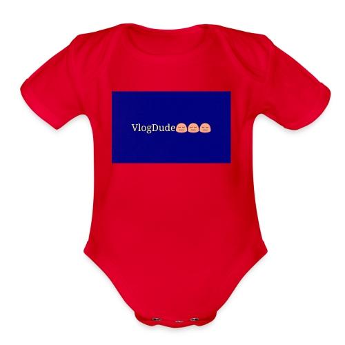 Pixlr vlogdude - Organic Short Sleeve Baby Bodysuit