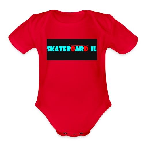 logo og - Organic Short Sleeve Baby Bodysuit