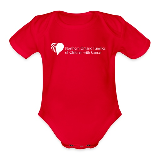Northern Ontario Families of Children with Cancer - Organic Short Sleeve Baby Bodysuit