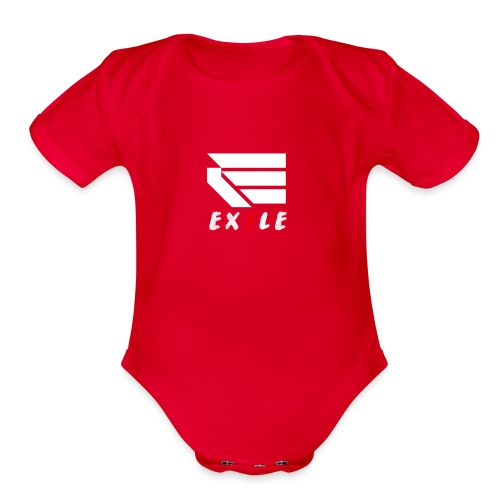 Exile Merch - Organic Short Sleeve Baby Bodysuit