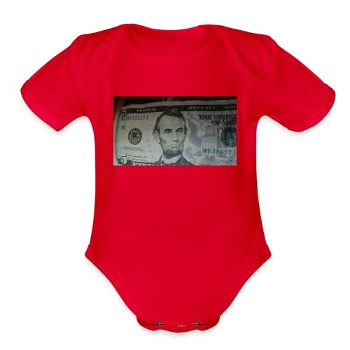 MC CLUB - Organic Short Sleeve Baby Bodysuit