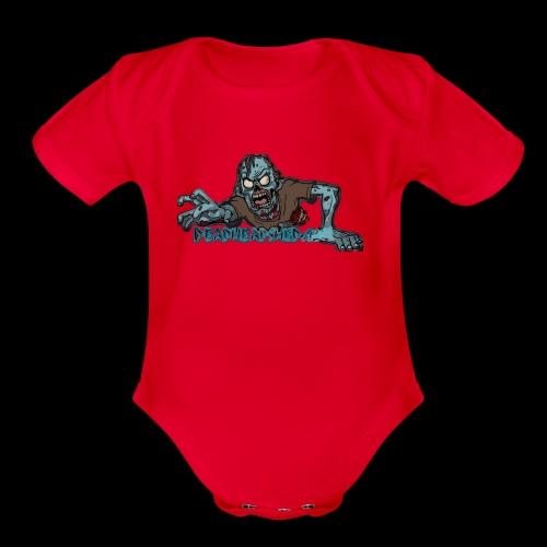 Dark zombie - Organic Short Sleeve Baby Bodysuit
