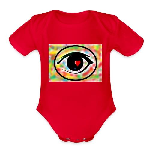 Eyelike - Organic Short Sleeve Baby Bodysuit