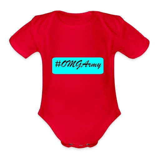 OMGArmy - Organic Short Sleeve Baby Bodysuit