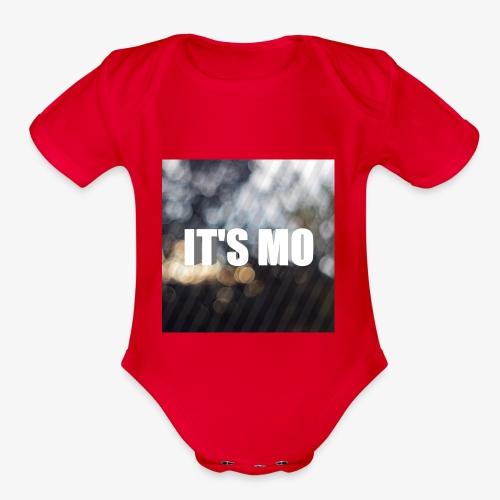 It's Mo shop - Organic Short Sleeve Baby Bodysuit