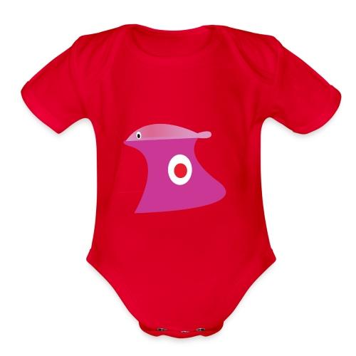 jug - Organic Short Sleeve Baby Bodysuit