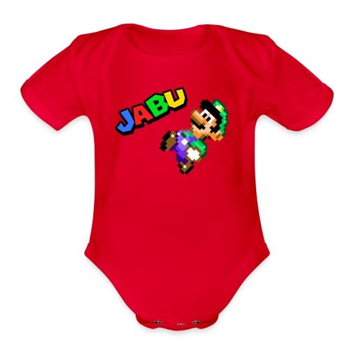 TheJabuBros Luigi Sprite Shirt - Organic Short Sleeve Baby Bodysuit