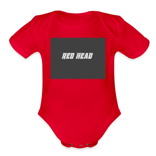 redheadmerch - Organic Short Sleeve Baby Bodysuit