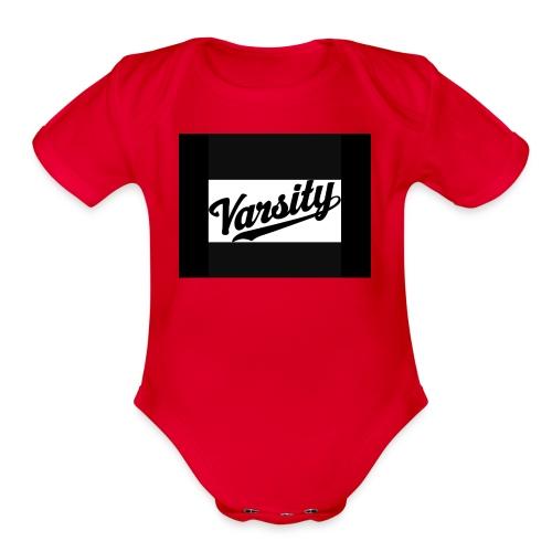 IMG 2197 - Organic Short Sleeve Baby Bodysuit