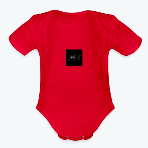 splurge 1 - Organic Short Sleeve Baby Bodysuit