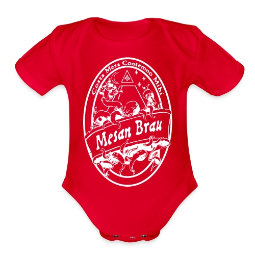 mesanbraucthsingle - Organic Short Sleeve Baby Bodysuit