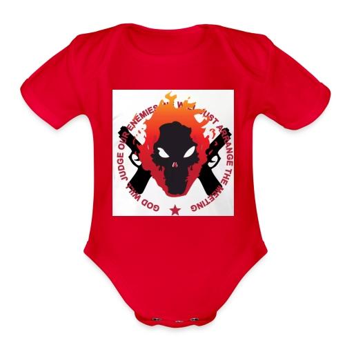 judgement - Organic Short Sleeve Baby Bodysuit