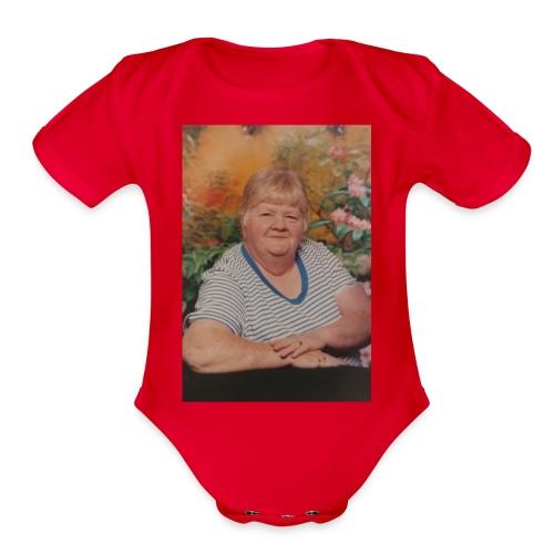 Carolyn - Organic Short Sleeve Baby Bodysuit