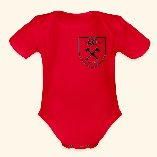 The AXE - Organic Short Sleeve Baby Bodysuit