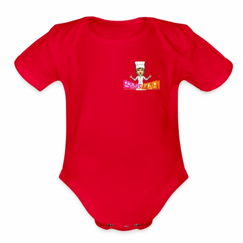 Estela Nena's Kitchen - Organic Short Sleeve Baby Bodysuit