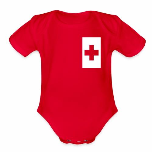 Mate Maa Tonga - Organic Short Sleeve Baby Bodysuit