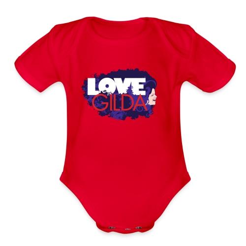 LoveGilda 04 PMS - Organic Short Sleeve Baby Bodysuit