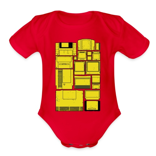 The Cartridge Family - Organic Short Sleeve Baby Bodysuit