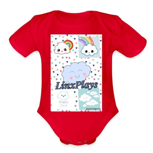 7C776B30 8FB2 4DD7 A03A 175F1F0C91E0 - Organic Short Sleeve Baby Bodysuit