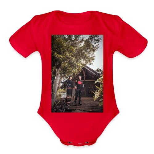 DESIGNER HDUONGNIE - Organic Short Sleeve Baby Bodysuit