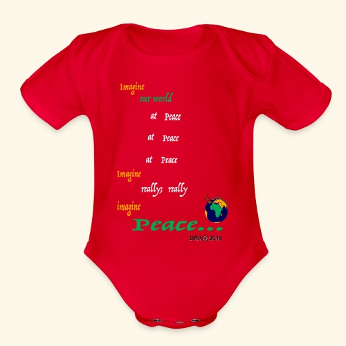 ReallyW - Organic Short Sleeve Baby Bodysuit