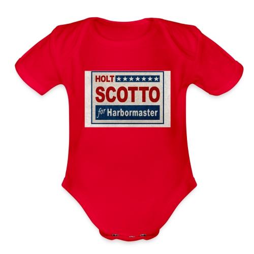 Vote 4 Holt - Organic Short Sleeve Baby Bodysuit