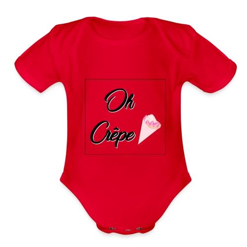 Oh Crap - Organic Short Sleeve Baby Bodysuit