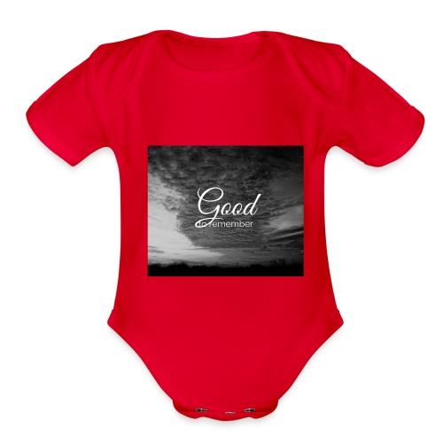 jeramih art - Organic Short Sleeve Baby Bodysuit
