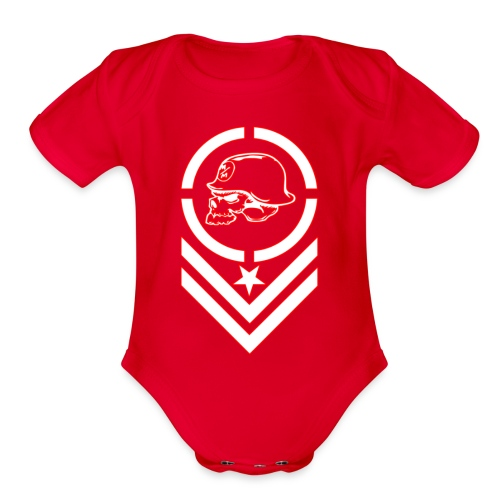 Metal Mulisha 02 - Organic Short Sleeve Baby Bodysuit