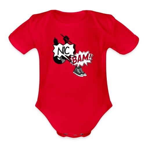 Four Elements - Organic Short Sleeve Baby Bodysuit