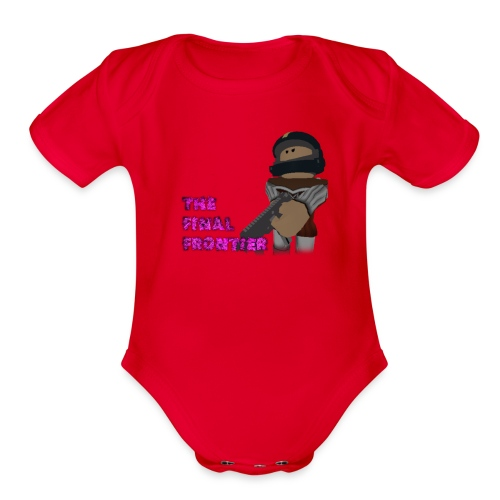 The Final Frontier Sports Items - Organic Short Sleeve Baby Bodysuit