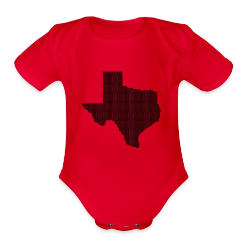 Texas - Organic Short Sleeve Baby Bodysuit