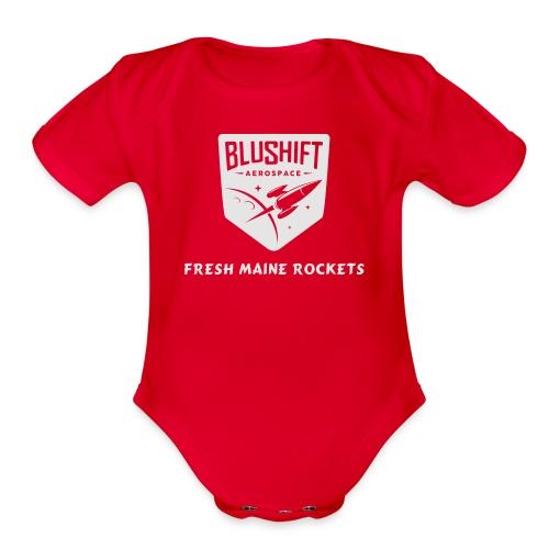 BluShift Maine - Organic Short Sleeve Baby Bodysuit