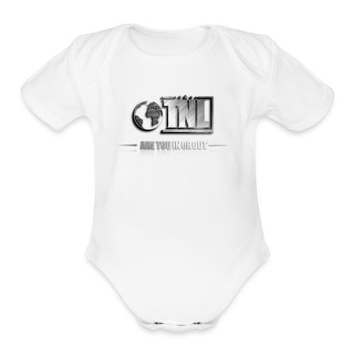 TNL 3D - Organic Short Sleeve Baby Bodysuit