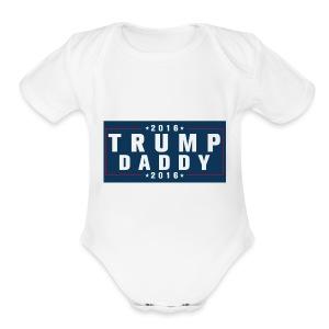 Trump - Short Sleeve Baby Bodysuit