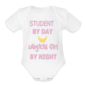 Fighting Evil By... - Short Sleeve Baby Bodysuit