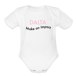 Make an Impact - Short Sleeve Baby Bodysuit