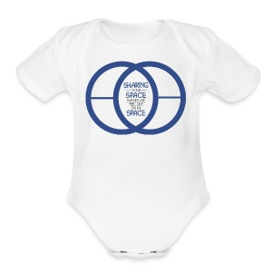 SHARING YOUR SPACE - Short Sleeve Baby Bodysuit