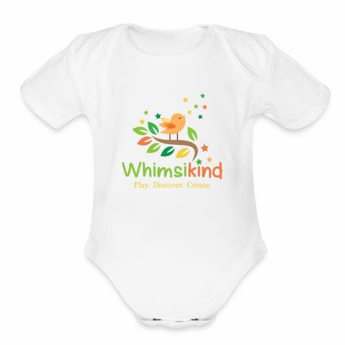 Whimsikind - Organic Short Sleeve Baby Bodysuit
