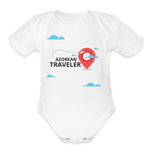 AzoreanTraveler - Organic Short Sleeve Baby Bodysuit