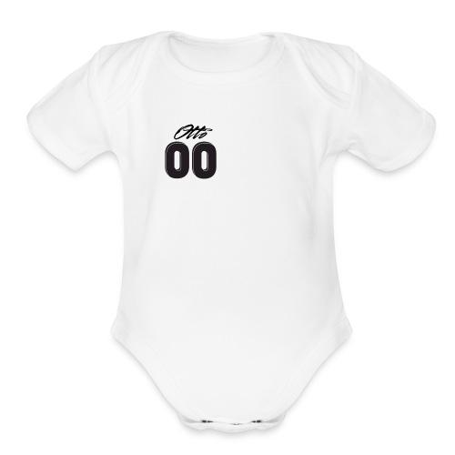 ottosquad 00 - Organic Short Sleeve Baby Bodysuit
