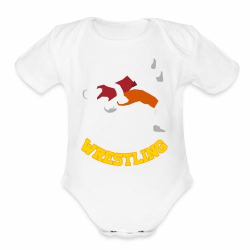 Takedown Shirt - Organic Short Sleeve Baby Bodysuit