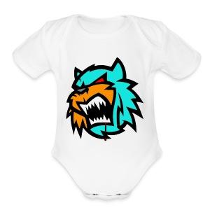 Bob cat logo Neutron - Short Sleeve Baby Bodysuit
