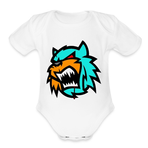 Bob cat logo Neutron - Organic Short Sleeve Baby Bodysuit