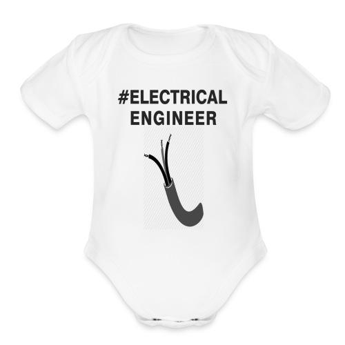 electricaleng - Organic Short Sleeve Baby Bodysuit