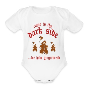 Come To The Dark Side - Short Sleeve Baby Bodysuit