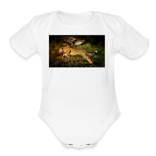 taichifireplayz - Organic Short Sleeve Baby Bodysuit