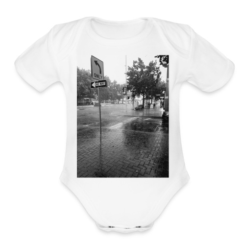 Crøss-Way - Organic Short Sleeve Baby Bodysuit