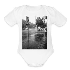 Crøss-Way - Short Sleeve Baby Bodysuit