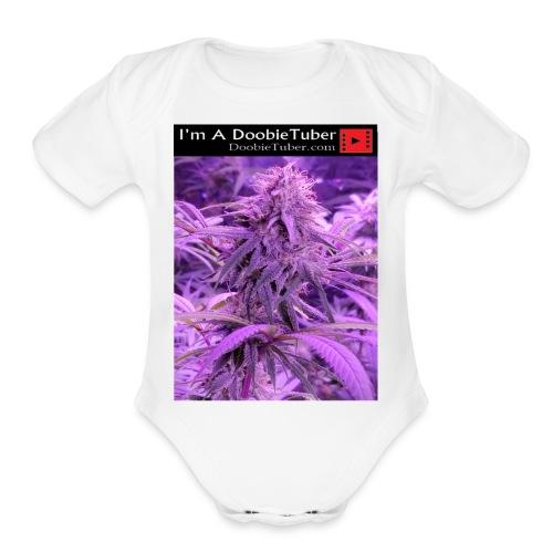 DoobieTuber1 - Organic Short Sleeve Baby Bodysuit